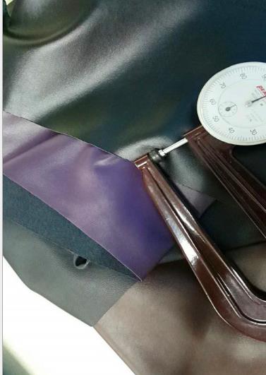 dẫn điện dẫn điện lực đàn hồi da da không chạm vào môi trường vải găng tay da hàng da nhân tạo P