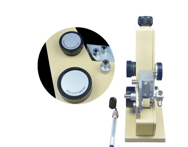 Bộ máy đo khúc xạ đơn chiết quang phổ dụng cụ đo khúc xạ mắt rắn chất lỏng chiết quang phổ quang học