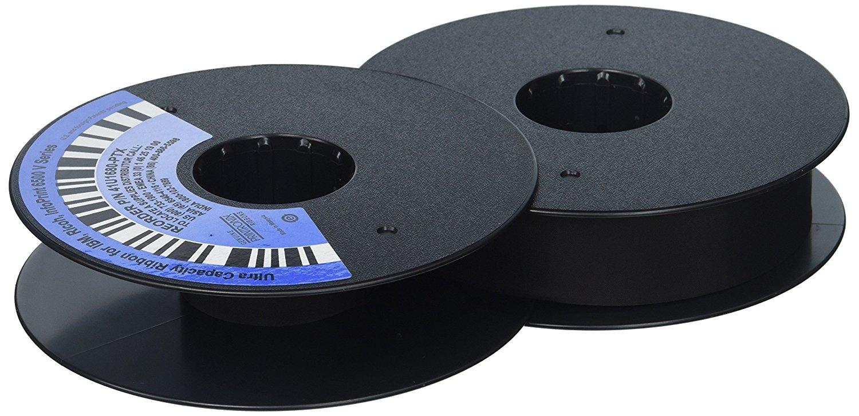 Printronix 41u1680-ptx ruy băng 6 điều giả đen.