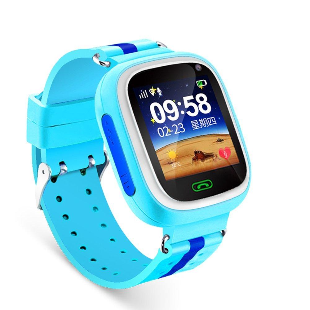 Đồng hồ thông minh  Trẻ em có bộ ngực thỏ đồng hồ điện thoại định vị điện thoại gọi đồng hồ thông mi