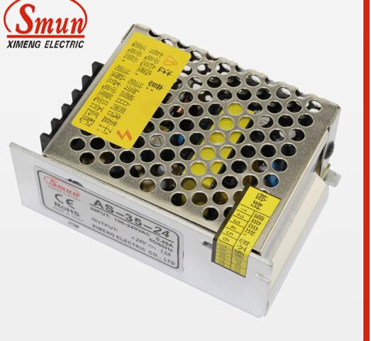 Smun khối lượng nhỏ công tắc điện 24V1.5A35W liên lạc công tắc điện AS-35-24 dẫn giám sát an ninh.