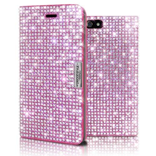 [tiếng Nhật thường xuyên, đặc vụ hàng] Dreamplus iphone6* vỏ Persian Nhật ký Leather khoan hồng.