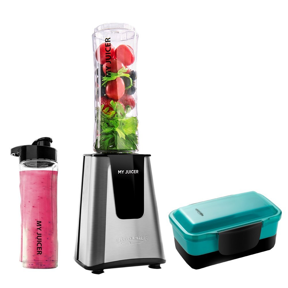 Sinh tố My American ergo chef 2 generation portable cooking machine Juicer (can be used as a baby fr