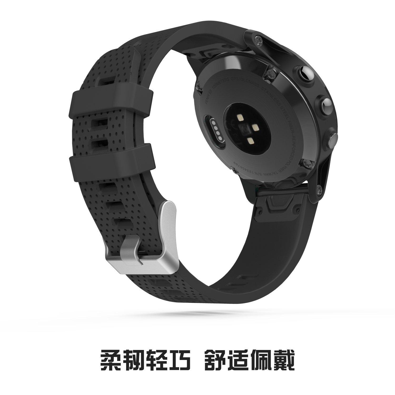 Đồng hồ thông minh  Mỹ Moko Garmin giai Ming Phoenix 5S đồng hồ dây đồng hồ Garmin 5S vòng vòng đeo