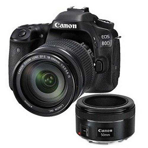 [lấy Huệ số] Canon/ Canon EOS 80D máy ảnh kỹ thuật số phối (EF-S 18-200mm +50F1.8STM IS phát bắn) Ca