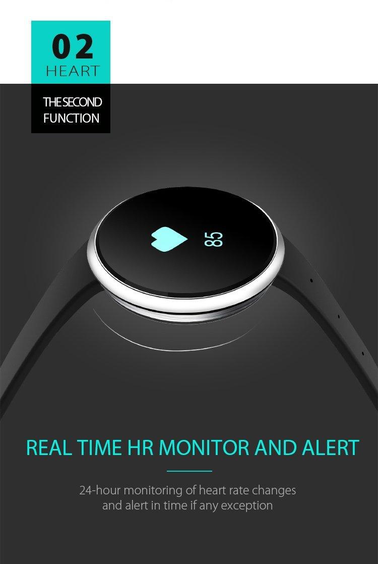 Đồng hồ thông minh  Tập thể dục rệp tròn đồng hồ thông minh * màn hình điện nhắc nhở * chất lượng ca