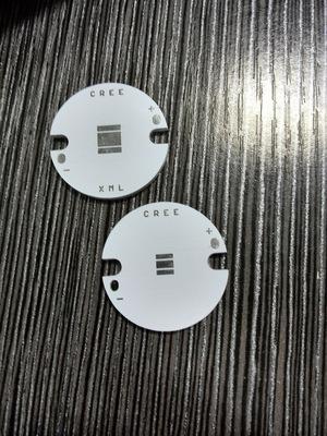 Bề mặt kim loại cách điện PCB Các nhà sản xuất PCB chuyên sản xuất 25mm XP XML đèn pin nhôm kim loại