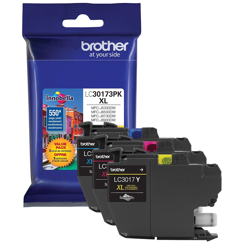 Brother Máy in 3 anh em lc30173pk điều giả cao sản XL - 1 rbwbp JNK JNK của Cartridges Ea