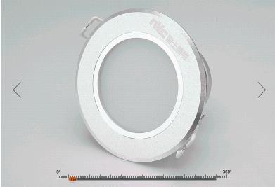 LED lỗ đèn Đèn 2.5 inch 3W bệnh đậu mùa 8 xentimét nhúng phòng khách hành lang đèn 6W Lỗ Sơn và 8-9.
