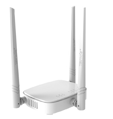 Router lên cao (Tenda) N300/N318 đôi ăng ten ba - ten vô tuyến router ba N318 ăng - ten.