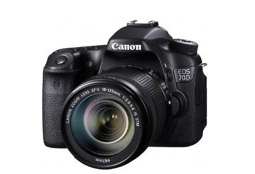 Máy ảnh phản xạ ống kính đơn / Máy ảnh SLR  Canon EOS 70D Canon Digital (EF-S 18-135mm f/3.5-5.6 là