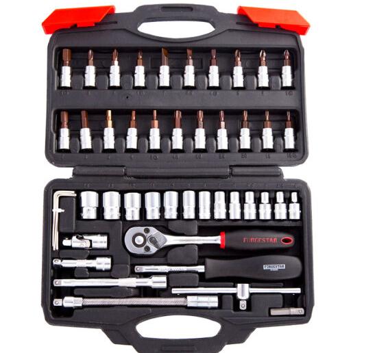 (Forgestar) một bộ công cụ sửa xe 6.3mm series 46 điều hơi bảo bộ công cụ bộ theo xe công cụ kết hợp