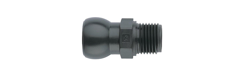Wiha giả mang chủ đề 4 núm vú, 1 / 2 inch hệ thống R 3 / 8, hệ thống ống articulated maxiflex Progra
