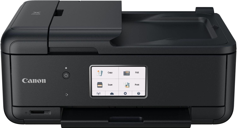 Máy in  Canon PIXMA tr8550 một máy thiết bị (máy in phun màu đa chức năng, máy quét, máy photocopy,