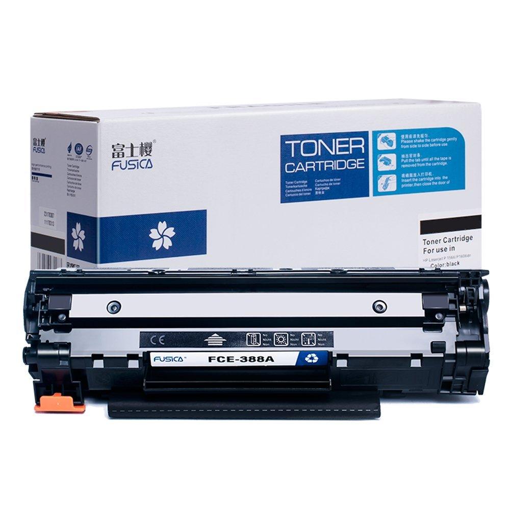 Hộp mực than   Anh Đào Fusica Fuji FCE-388A áp dụng với Hewlett - Packard HP CC388A 388a 88A P1007 P