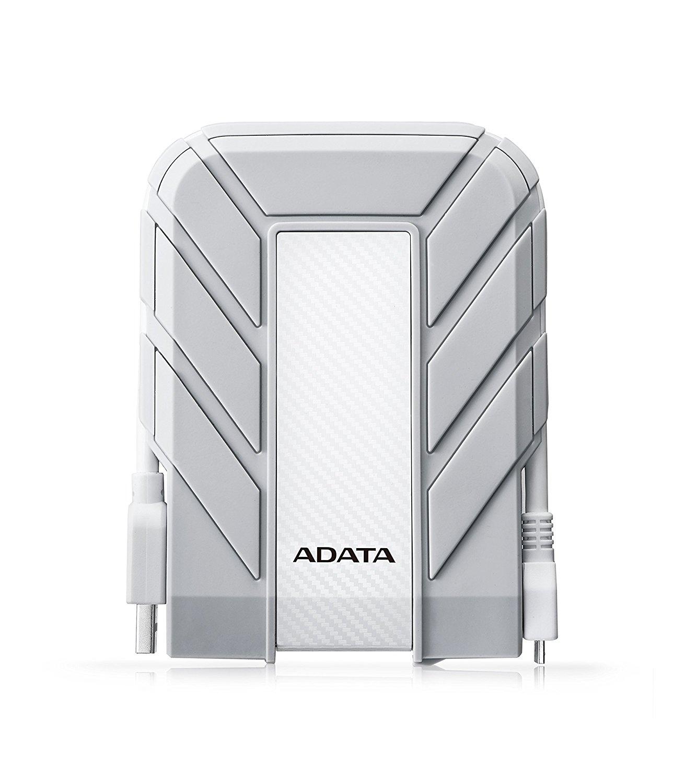 ADATA hd710 PRO chống nước IP / 68 / chống bụi chống rung ruggedized ổ cứng bên ngoài... White Mac 1