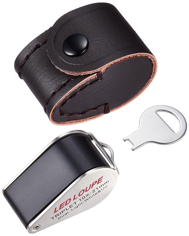 Kính lúp Nhật Bản] [Hồ mét Watchme Japan triplet ống kính quang học sản xuất đồng hồ kính lúp kính p