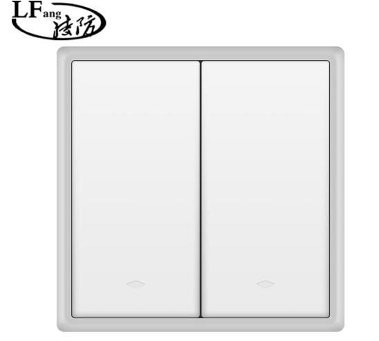 Ling phòng (LFang) không dây đơn mở công tắc ổ cắm bảng ba mở bảo vệ thông minh Portable socket pane