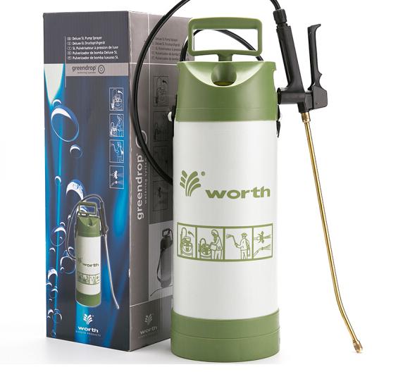 (Worth) đơn lưng vai áp bình xịt thuốc 5L/ máy nông nghiệp cao áp phun thuốc trừ sâu bình bình phun