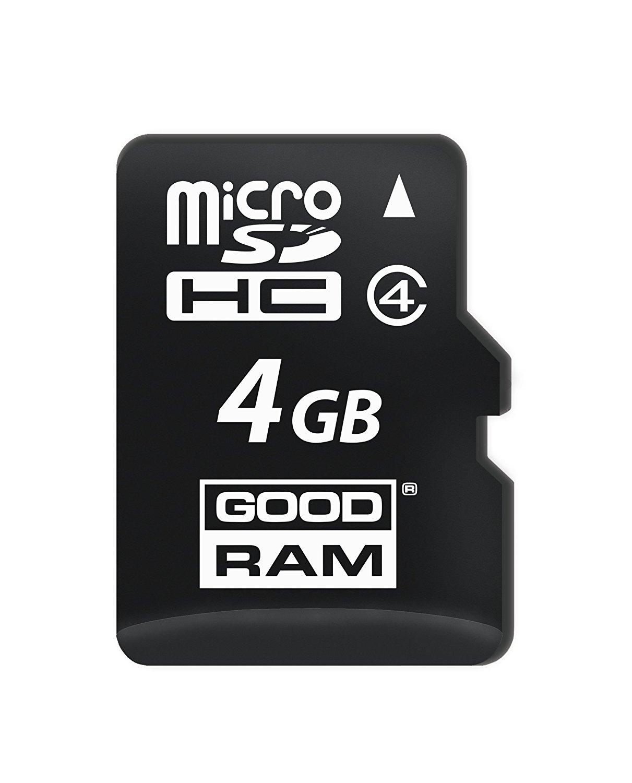 Goodram Winnecke 4 giáp microSDHC 0040r11 4 GB GB bộ nhớ flash của cấp 4 - bộ nhớ Flash 4 khoang mic