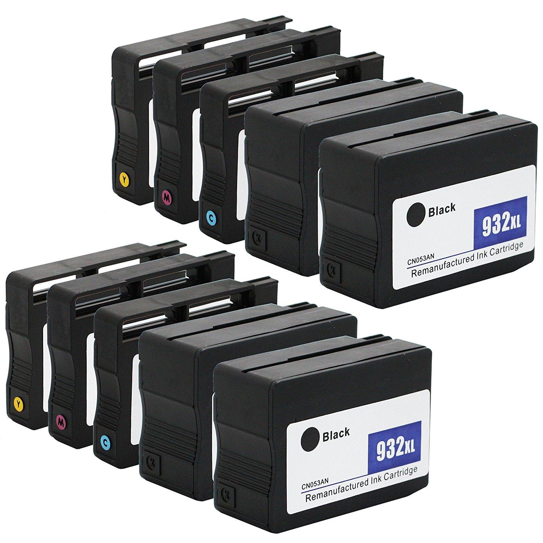 E-z INK tái tạo thay thế việc áp dụng vào hộp HP 932 x L 933 x L 932 933 XL sản lượng cao (4 màu đen
