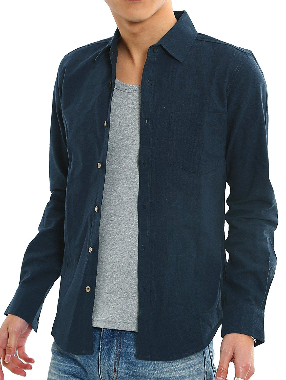 Improves (,) Cái áo dài tay thấp Ugly bảy điểm tụ gỗ kiểu nút áo dệt Nam lực đàn hồi, Panama.