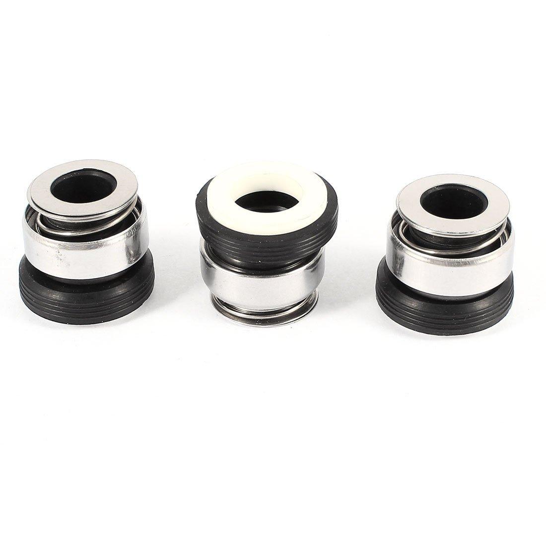 Sourcingmap              3 mảnh gốm sứ nhẫn 12 mm đường kính trong máy bơm trục sealing