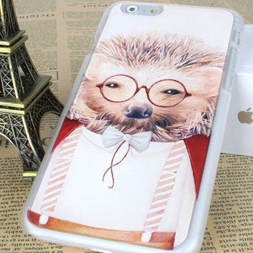 Triều lưu động vật vỏ điện thoại iPhone6 cá tính thời trang các vỏ điện thoại sáng tạo văn nghệ dầu