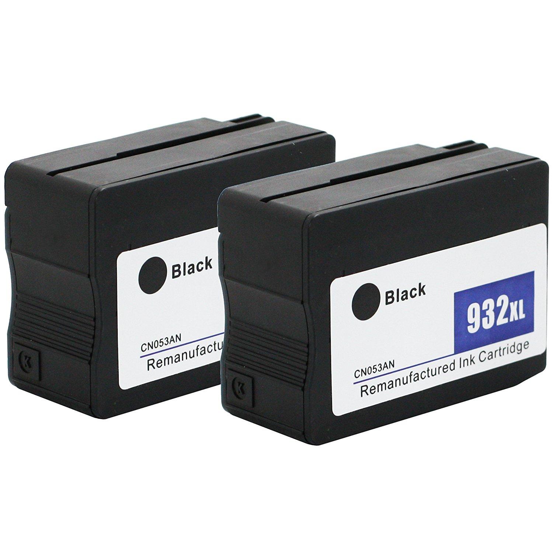 E-z INK tái tạo thay thế việc áp dụng vào hộp HP 932 x L 932 XL có khả năng cao 2 màu đen có thể áp