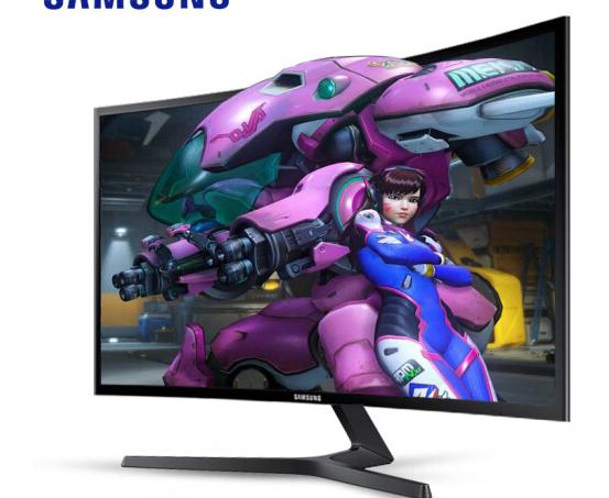 Máy tính màn hình Samsung (SAMSUNG) C27F396FHC 27 inch màn hình tinh thể lỏng dẫn khuất bóng bề mặt