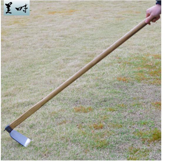 Dụng cụ làm vườn đẹp khi longipes cuốc cuốc xới đất nông nghiệp làm cỏ toàn thép dụng cụ rèn cán gỗ