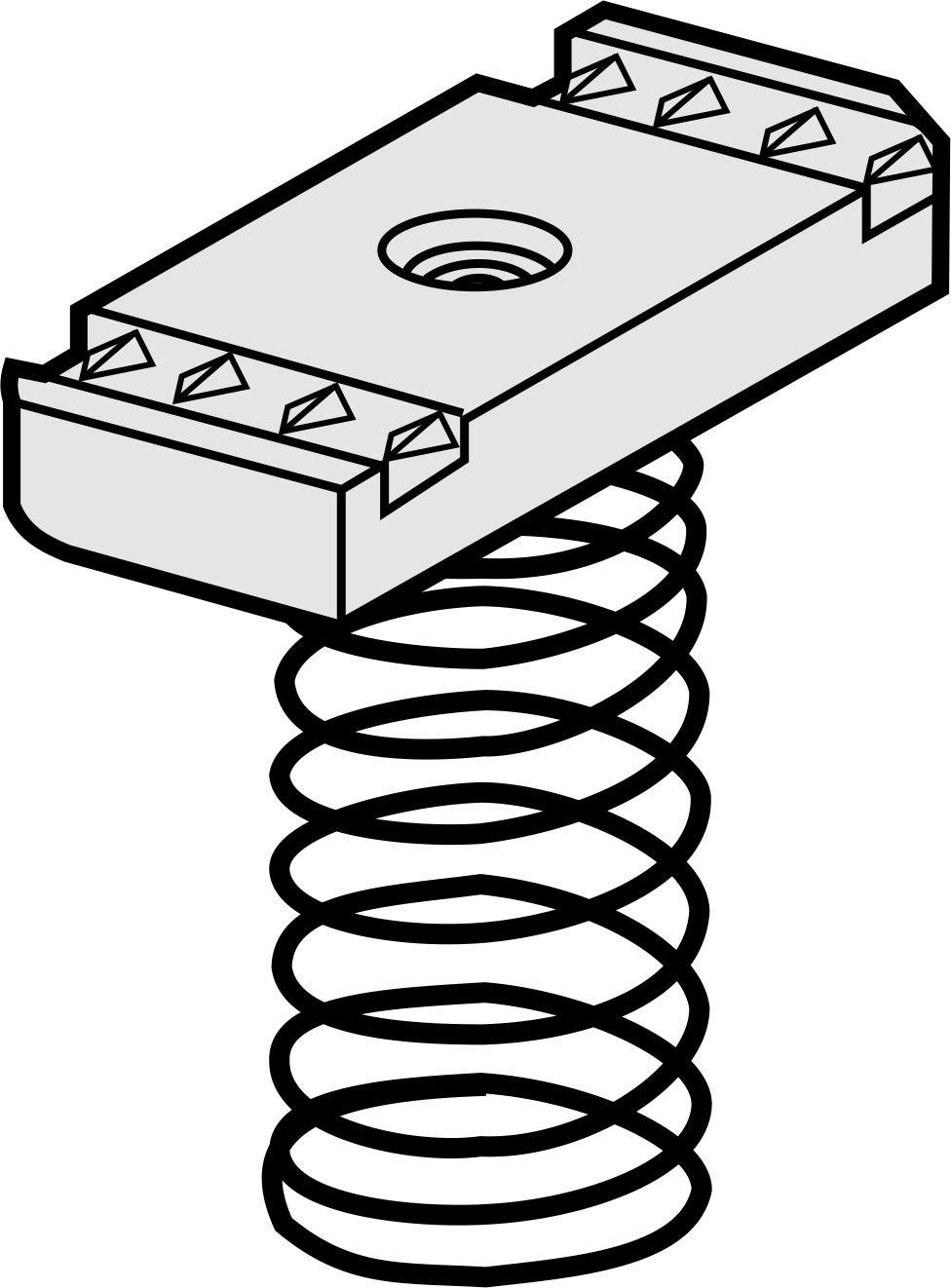 Versabar vsn 1025 - 1 / 5 – 1.8 cm dài 2 inch tiêu chuẩn hạt lò xo áp dụng cho 1 / 100 / hộp trụ cột