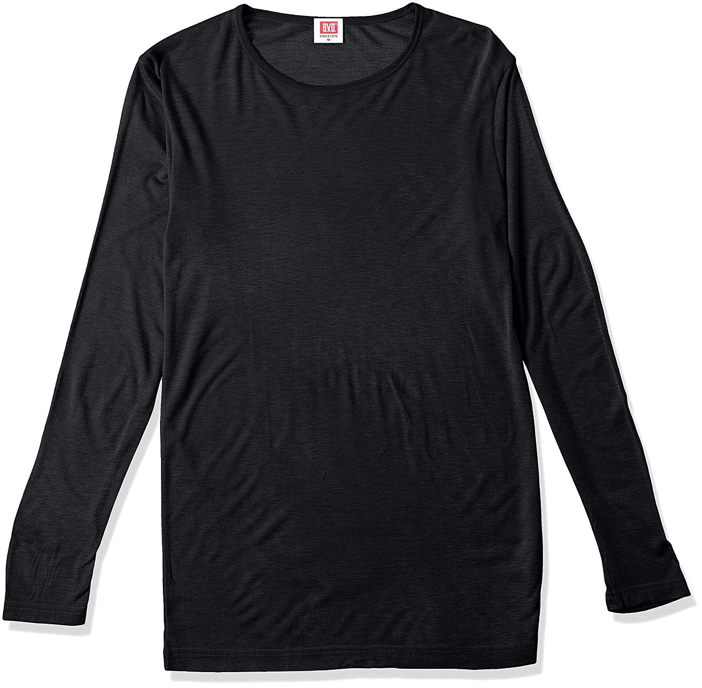 B.V.D. thấm nước sốt chống rét tu Tailoring loại dài tay áo thun WARM TOUCH bạc tiền (m, L, LL)