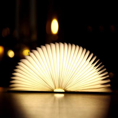 Đèn chiếu sáng nội thất khác Sáng tạo sạc đầy màu sắc đèn LED cuốn sách xách tay gấp giấy gấp đèn đè