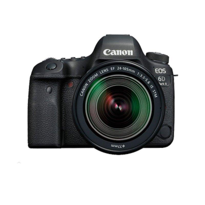Máy ảnh phản xạ ống kính đơn / Máy ảnh SLR  Canon Canon EOS 6D Mark II máy ảnh kỹ thuật số toàn bức