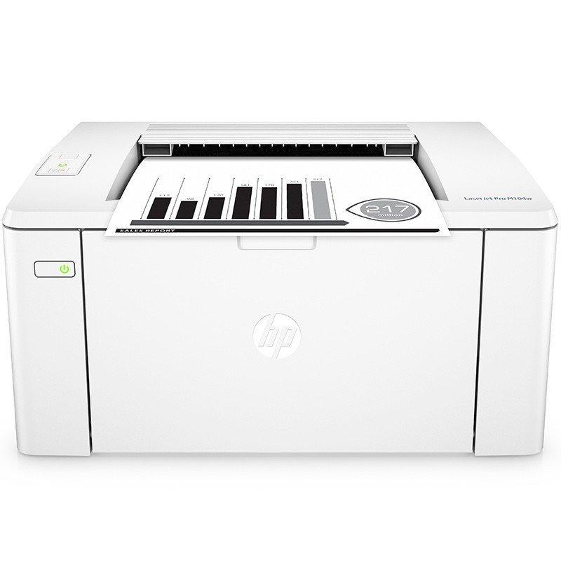 Máy in  Hewlett - Packard m104w đen máy in laser, máy in, máy in văn phòng gia đình không dây wifi