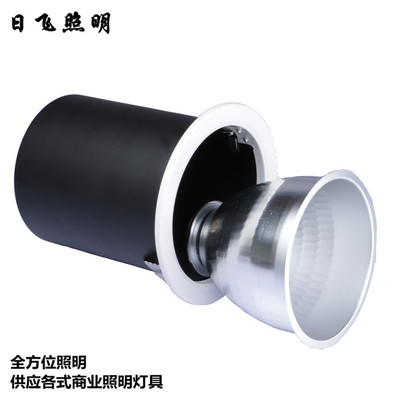 Bộ đèn LED Nhà máy cổ phiếu COB trần chú ý vỏ vỏ E27 gắn trên bề mặt dẫn đèn vỏ