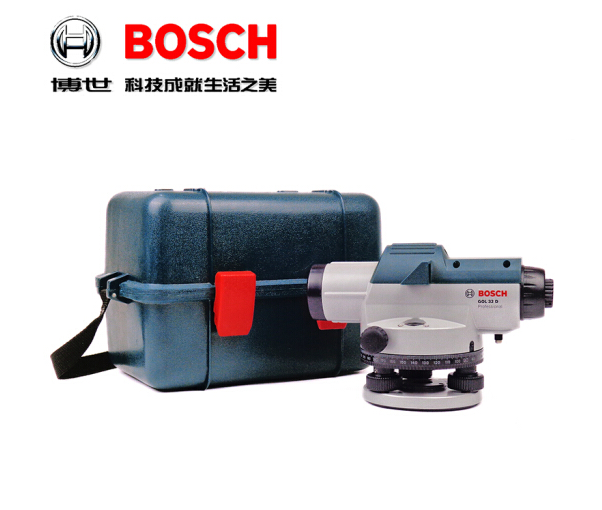 (BOSCH) 32 lần máy đo mực nước GOL32D tự động thiết bị quang học ở Bình An Bình ngoài mức 32 lần cài