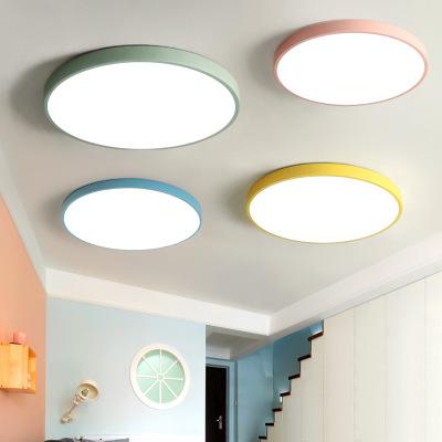 MohLoi Siêu mỏng dẫn ánh sáng đèn ngủ phòng ngủ hiện đại trần đèn phòng khách phòng ăn nghiên cứu lố
