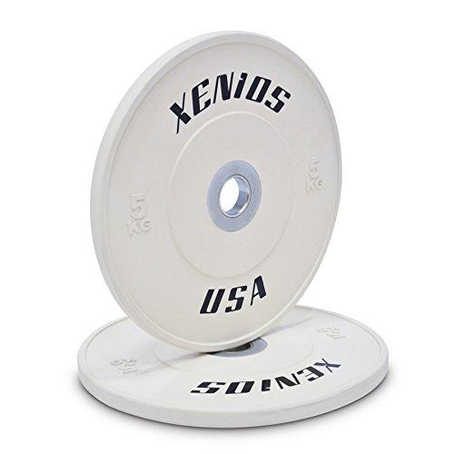 Thi đua xenios thép tấm đệm cao su của Mỹ với Trung tâm psbpcrbpl5 5 kg trắng.