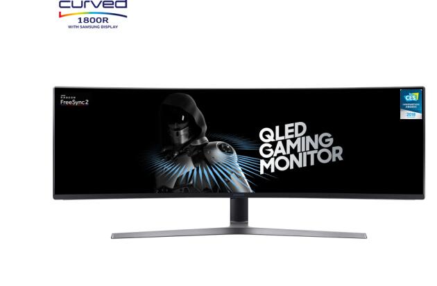 Máy tính màn hình Samsung (SAMSUNG) 48.9 inch màn hình siêu lớn 144Hz cập nhật công nghệ Surface HDR