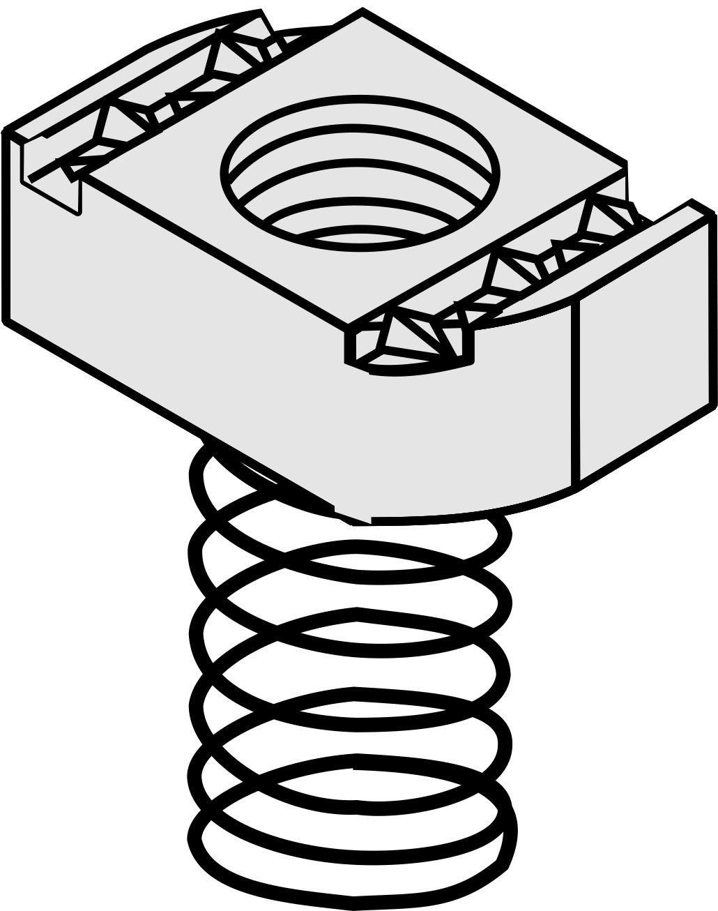 Versabar vsn 1050 – 5 1 / 2 inch tiêu chuẩn hạt lò xo áp dụng cho 1 1.8 cm / 100 / hộp trụ cột