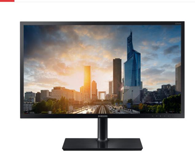 Máy tính S24H650GDC 24 inch màn hình Samsung SAMSUNG PLS góc quay rộng màn hình máy tính thương mại