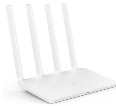 Router (bộ định tuyến so - Mi Mi) 3C bốn ăng - ten vô tuyến chở hàng gia dụng thông minh mini mini W