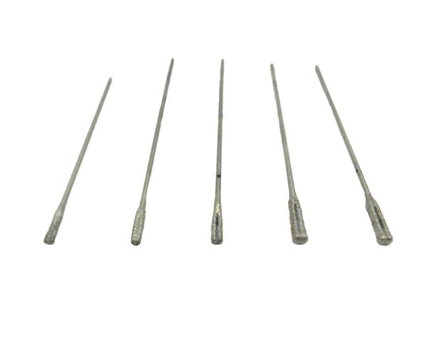 Long bảo ngọc kim cương lỗ khoan lỗ kim ngọc lục bảo Amber 0# (2.5mm)