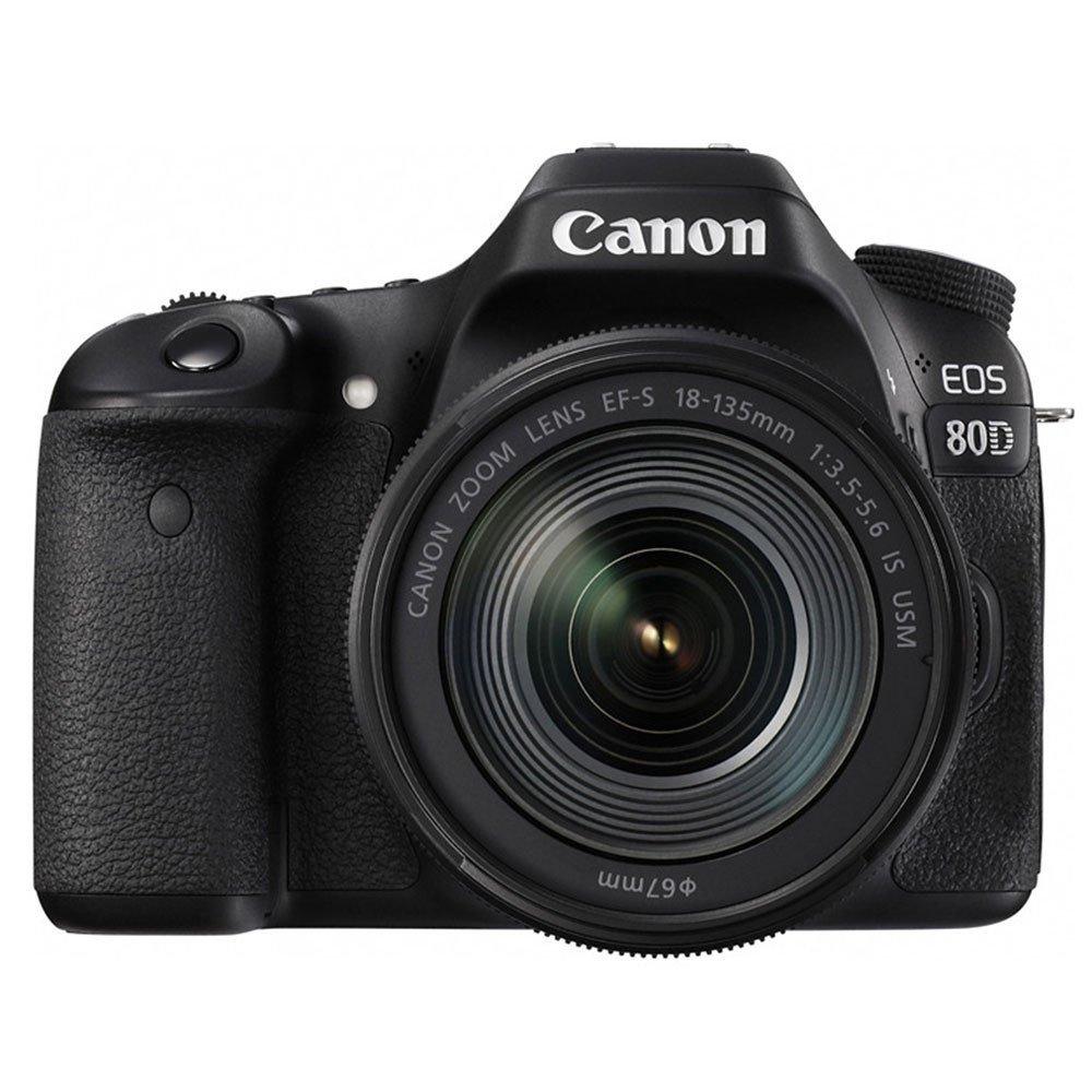 Máy ảnh phản xạ ống kính đơn / Máy ảnh SLR  Canon eos80d (Canon EF - - 135is máy ảnh kỹ thuật số USM