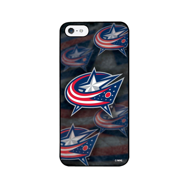 鼠标移至图上可放大图片 NHL Columbus Blue Jackets iPhone 5 3D Lenticular Case