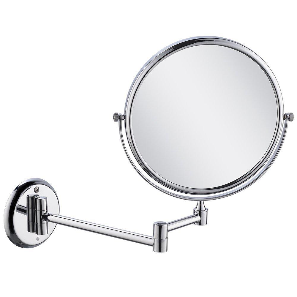 Kính lúp Họ KEGOO K06631 phòng tắm kim loại rắn có nhiều khả năng gương trang điểm treo máy thu thép