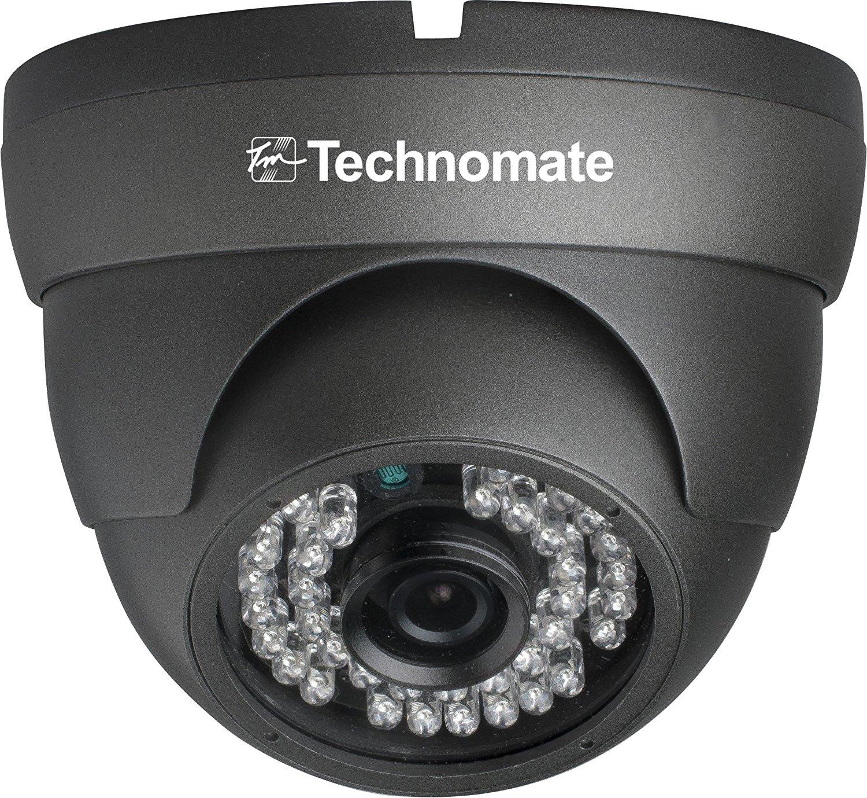 Technomate 2 MP camera IP 1080 p. dốc Sony – nhà / ngoài trời – 35 mét – xám đen.