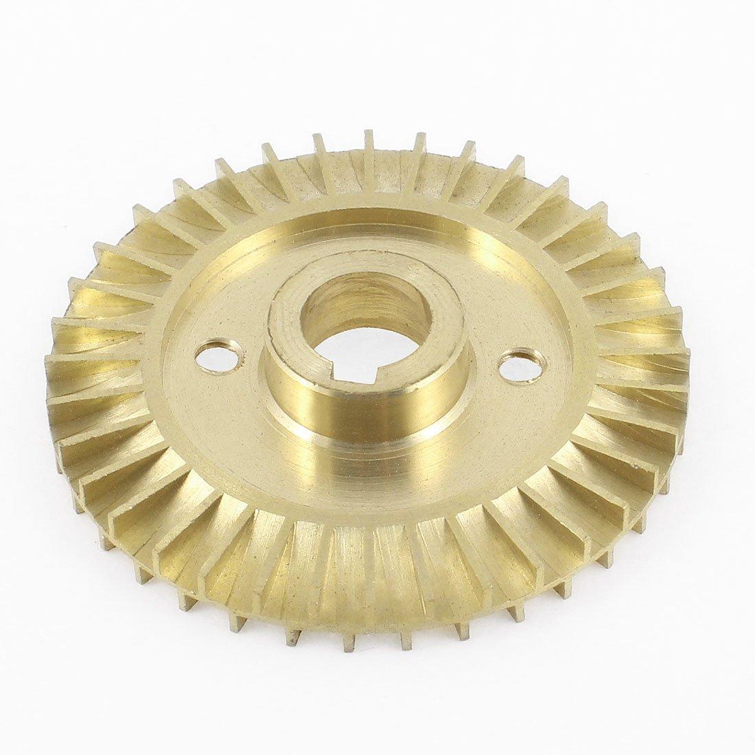 Sourcingmap              60 mm × 12 mm đường kính 36 răng lưỡi kiếm sắc màu đồng thau đồng bơm bánh